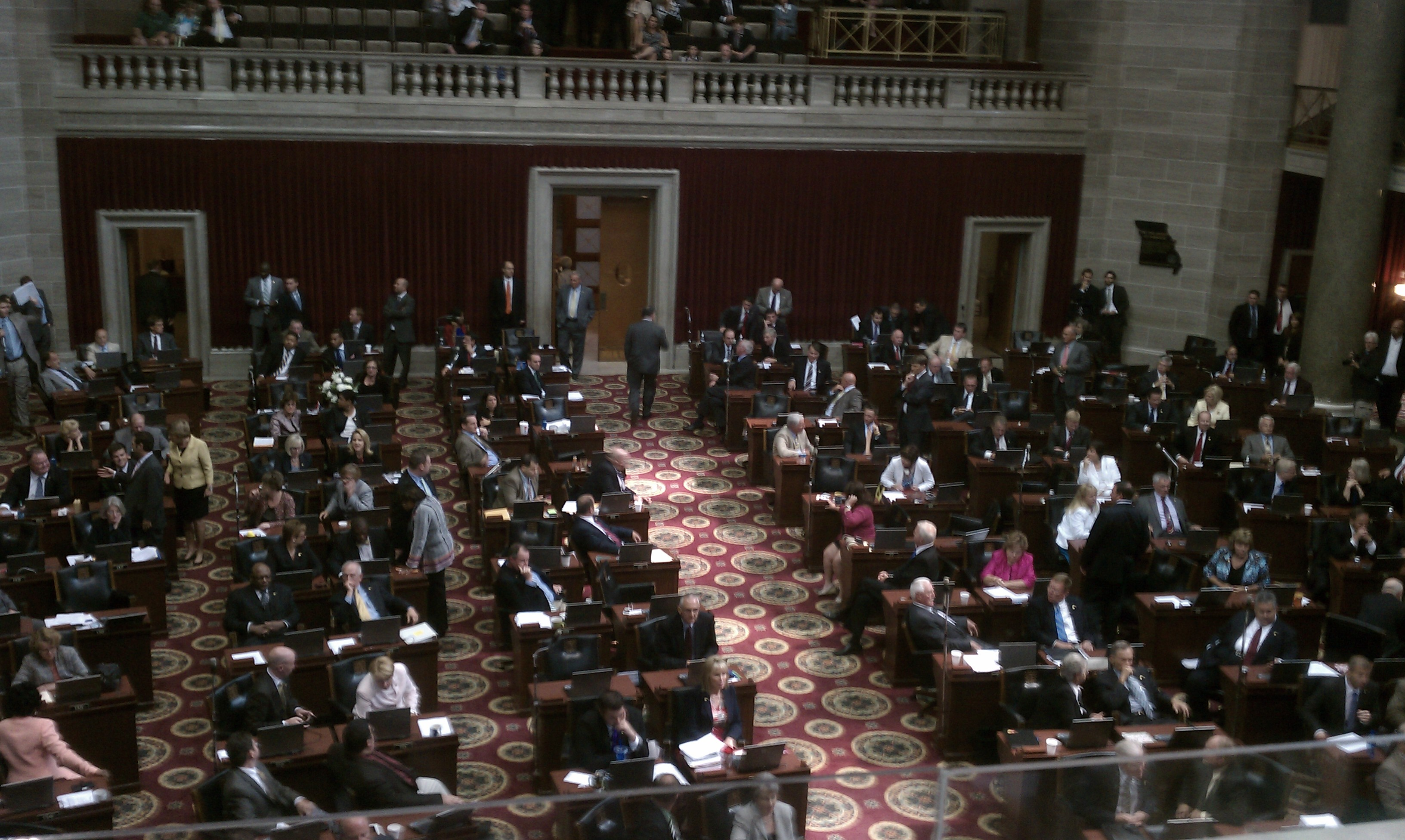 Missouri State House floor ---- can you find me?