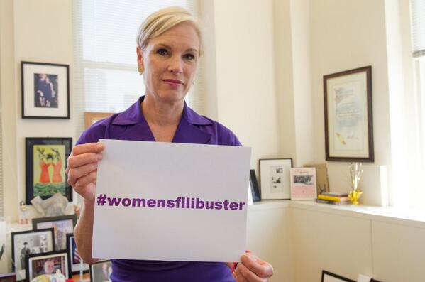 Cecile Richards, President & CEO of Planned Parenthood Federation